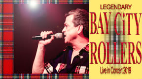 Les McKeown's Bay City Rollers at Leas Cliff Hall, Folkestone
