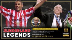 Sunderland Legends - In conversation with Niall Quinn & Peter Reid at Sunderland Empire