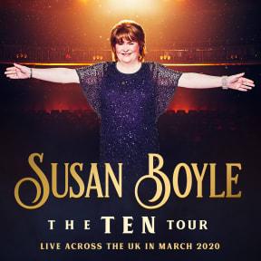 Susan Boyle at Bristol Hippodrome Theatre