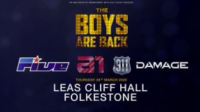 The Boys Are Back 5ive / A1 / Damage / 911 at Leas Cliff Hall, Folkestone
