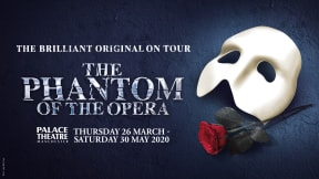 The Phantom of the Opera at Palace Theatre Manchester