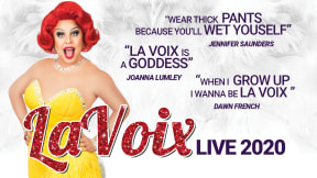 La Voix - The UK's Funniest Red Head! at Aylesbury Waterside Theatre