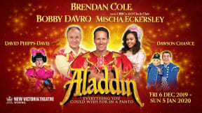 Aladdin at New Victoria Theatre, Woking