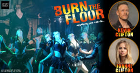 Kevin Clifton & Joanne Clifton - Burn The Floor at Aylesbury Waterside Theatre