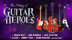The Story of Guitar Heroes at Victoria Hall, Stoke-on-Trent