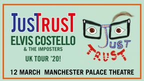 Elvis Costello & The Imposters at Palace Theatre Manchester