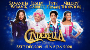 Cinderella at New Wimbledon Theatre