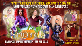 Sinderella - Adult Pantomime at Liverpool Empire