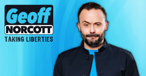 Geoff Norcott: Taking Liberties at Aylesbury Waterside Second Space