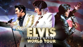 The Elvis Tribute Artist World Tour at Victoria Hall, Stoke-on-Trent