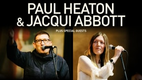 Paul Heaton & Jacqui Abbott at Victoria Hall, Stoke-on-Trent