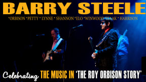 Barry Steele in The Roy Orbison Story 'West End Special' at Liverpool Empire