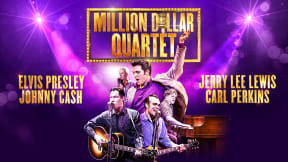 Million Dollar Quartet at New Wimbledon Theatre