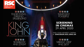 RSC King John, Encore Screening at Aylesbury Waterside Second Space
