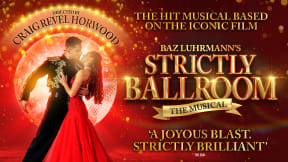 Strictly Ballroom at New Wimbledon Theatre