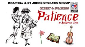 Patience By Gilbert & Sullivan at Rhoda McGaw Theatre, Woking