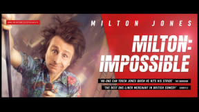 Milton Jones in Milton: Impossible at Princess Theatre, Torquay
