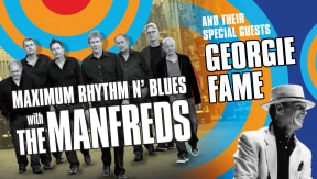 Maximum Rhythm 'n' Blues with The Manfreds at Victoria Hall, Stoke-on-Trent