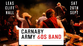 Carnaby Army 60's Revival at Leas Cliff Hall, Folkestone