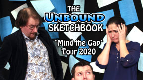 The Unbound Sketchbook at Aylesbury Waterside Second Space
