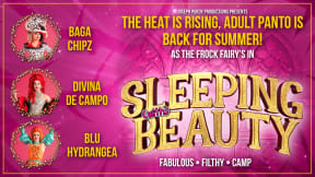The Frock Fairies in Sleeping (with) Beauty at Aylesbury Waterside Theatre