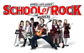 School of Rock at Edinburgh Playhouse