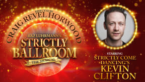 Strictly Ballroom at Edinburgh Playhouse