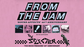 From The Jam + The Selecter at Victoria Hall, Stoke-on-Trent