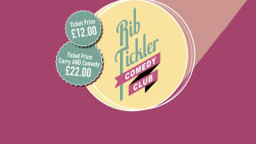 The Rib Tickler Comedy Club (October) at Leas Cliff Hall, Folkestone