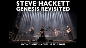 Steve Hackett Genesis Revisited - Seconds Out & More at New Theatre Oxford