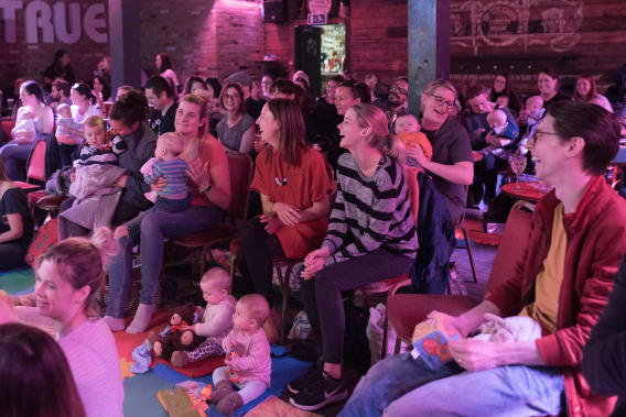 BYOBaby Comedy (30 September 2019) at Studio at New Wimbledon Theatre