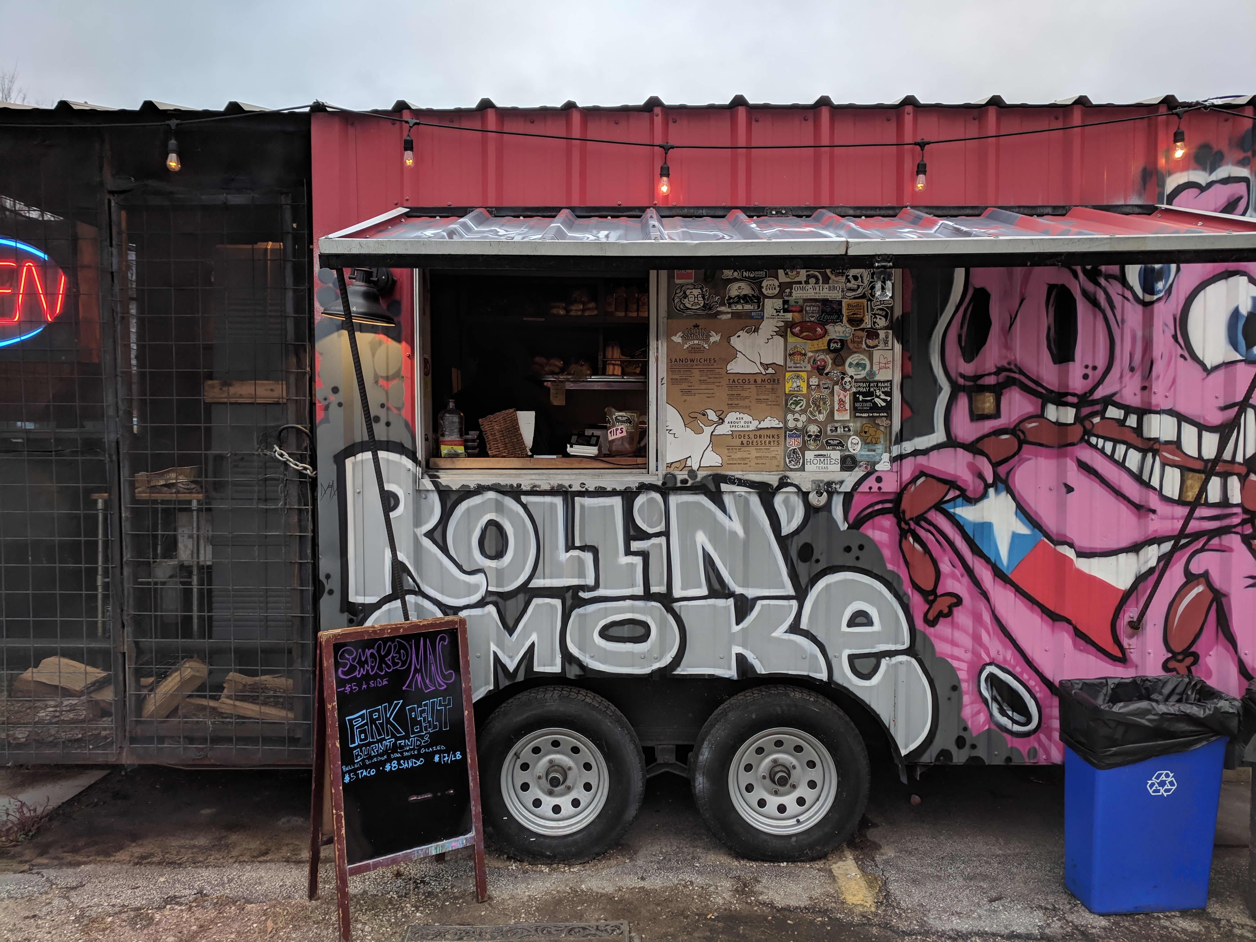 Austin Texas BBQ List Rolling Smoke BBQ
