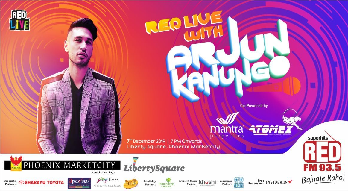 Red Live with Arjun Kanungo in Pune