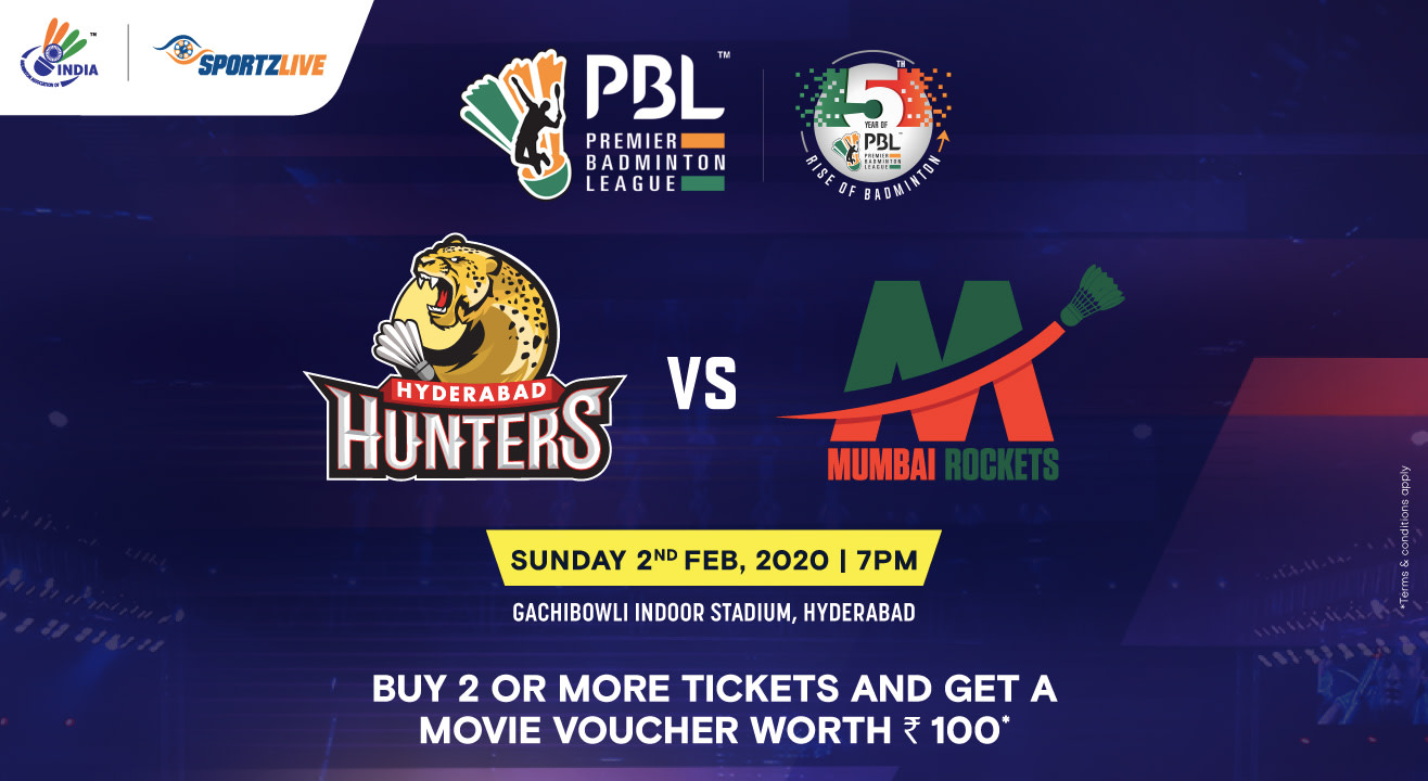PBL 2020: Hyderabad Hunters vs Mumbai Rockets