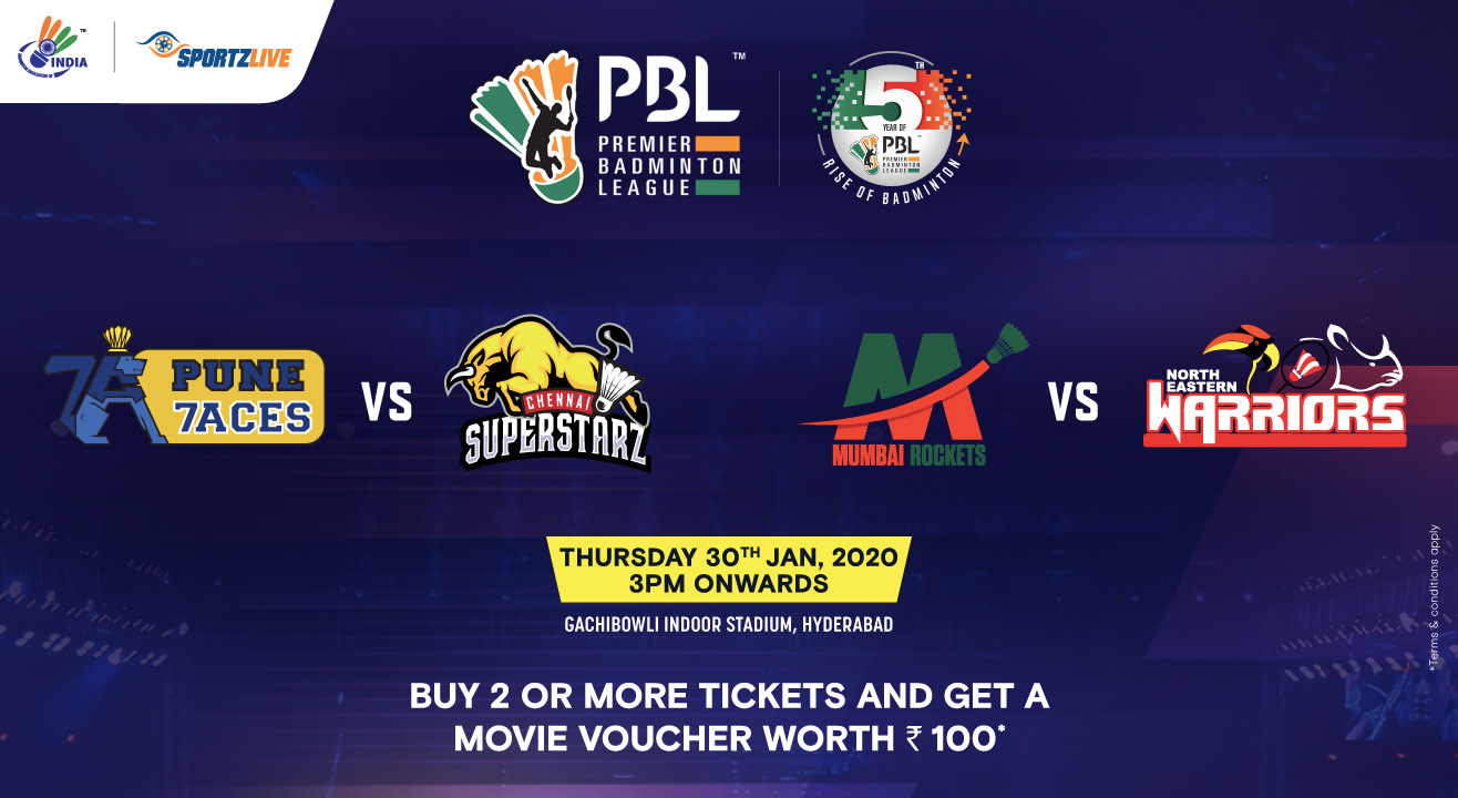 PBL 2020: Pune 7Aces vs Chennai Superstarz and Mumbai Rockets vs North Eastern Warriors