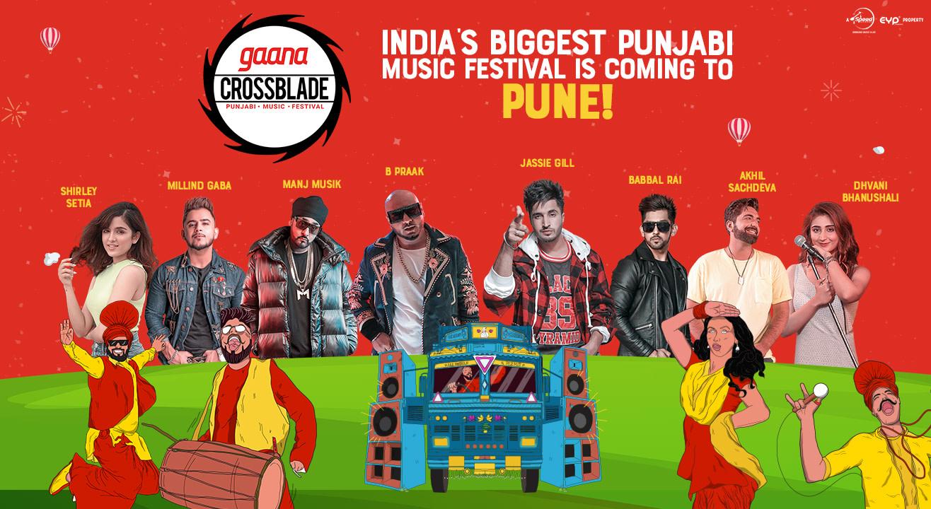 Gaana Crossblade Music Festival   Pune