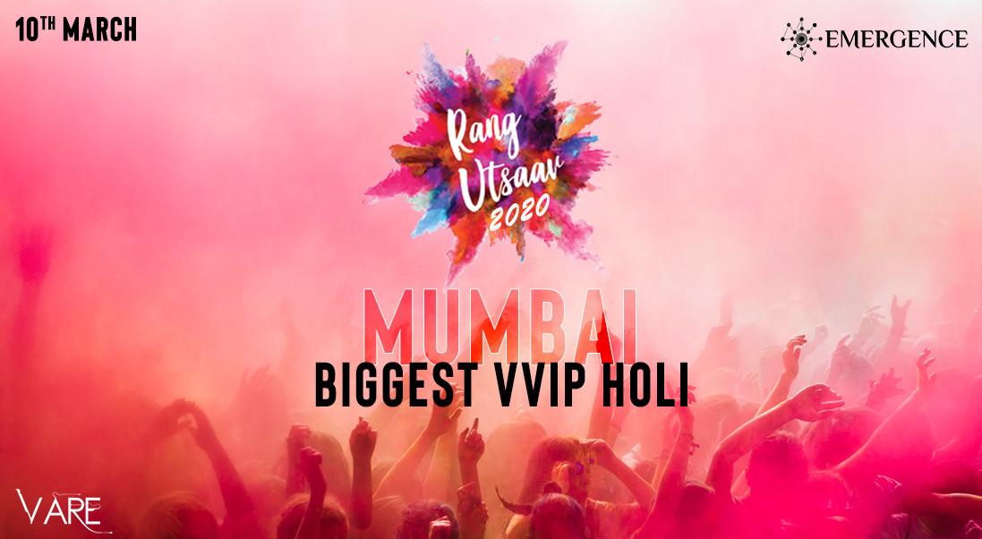 Rang Utsaav – Mumbai's Biggest VVIP Holi