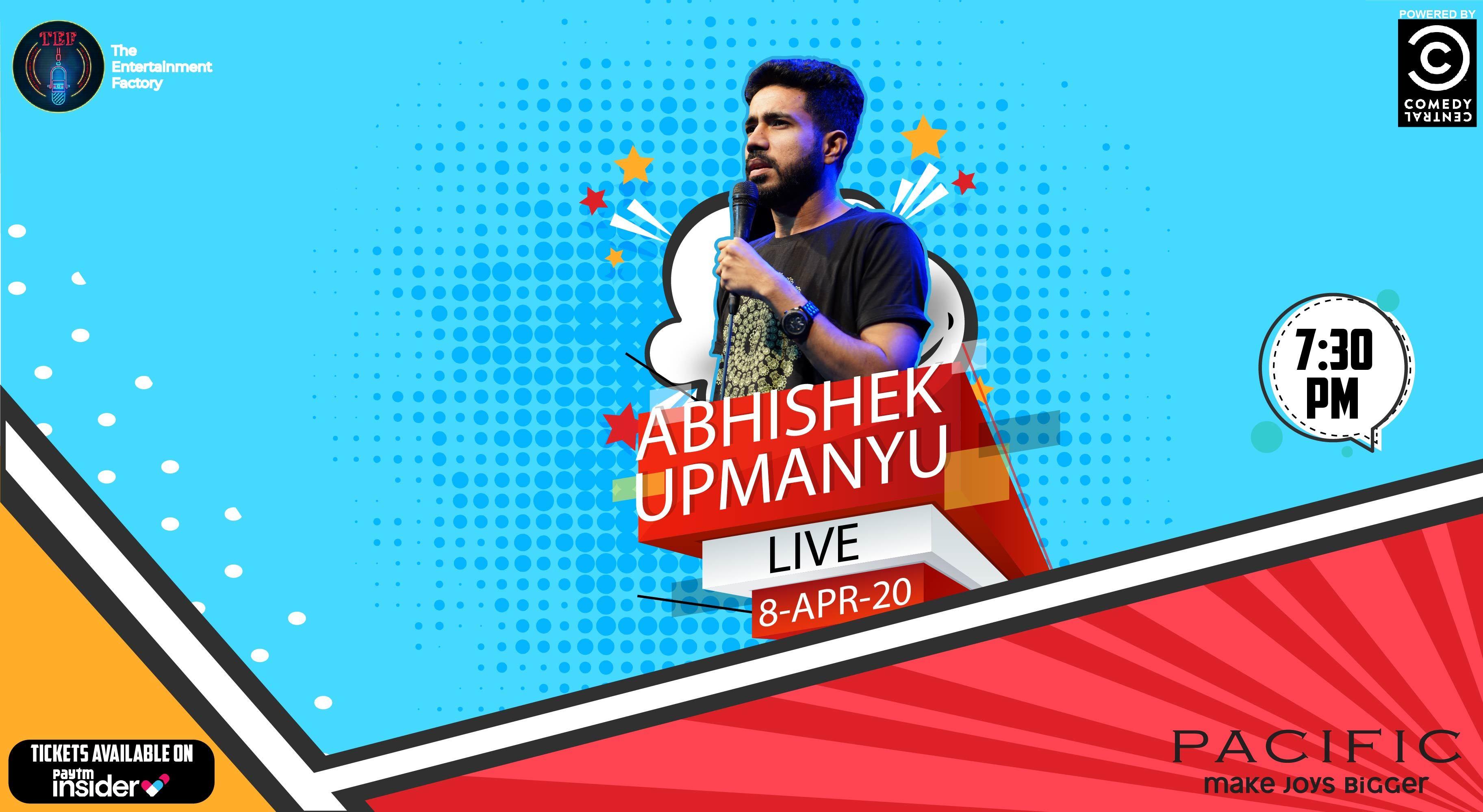 Abhishek Upmanyu Live | New Delhi