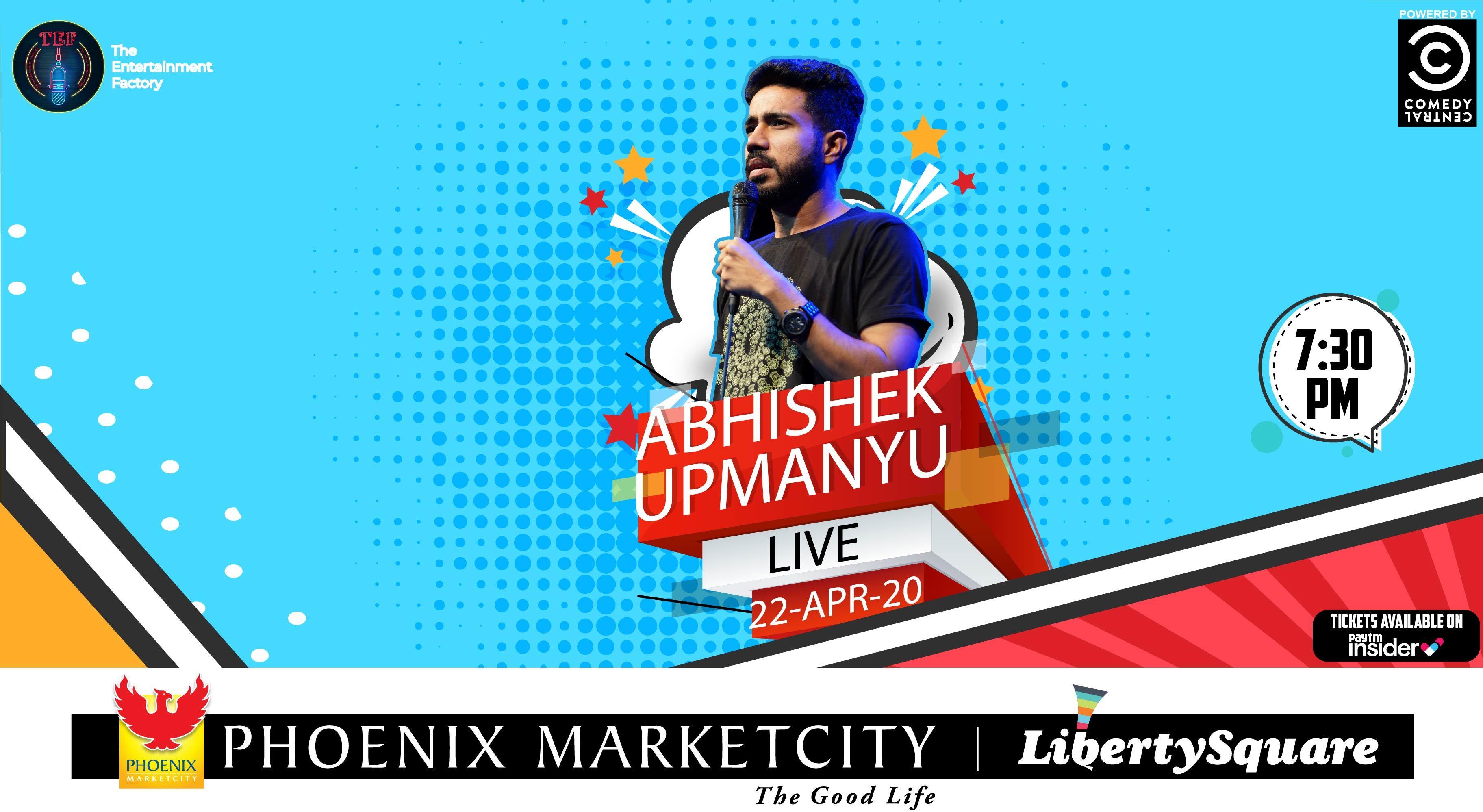 Abhishek Upmanyu Live | Pune