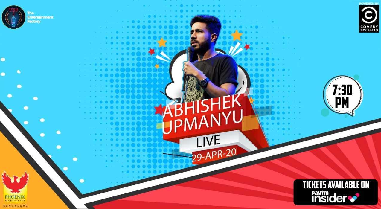 Abhishek Upmanyu Live | Bangalore