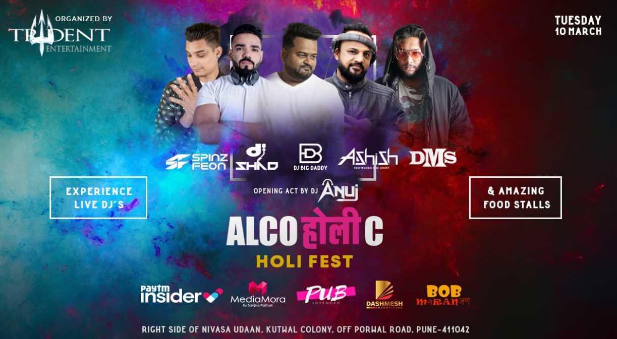 Alcoholic Holi Fest