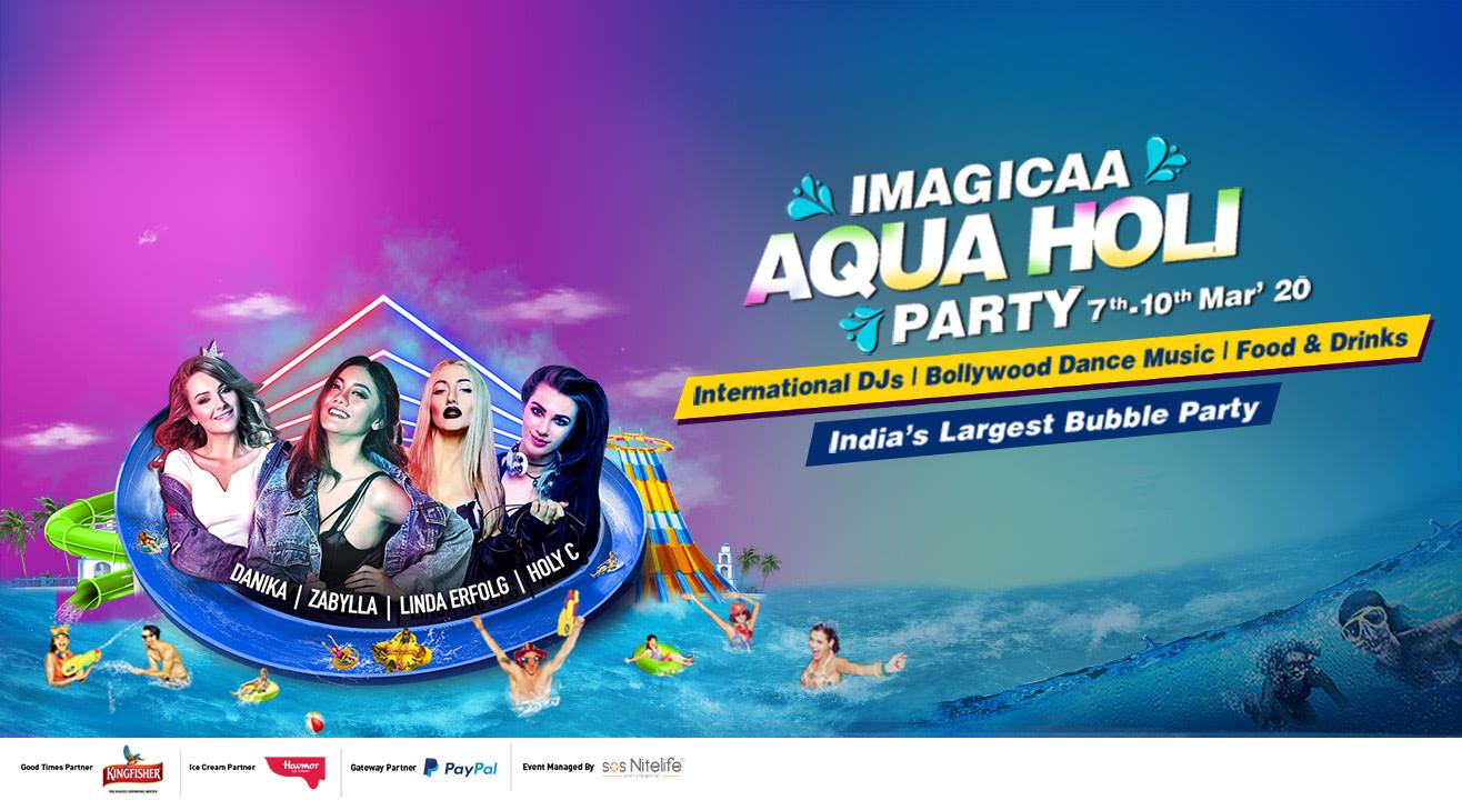 Holi Special at Imagica 2020