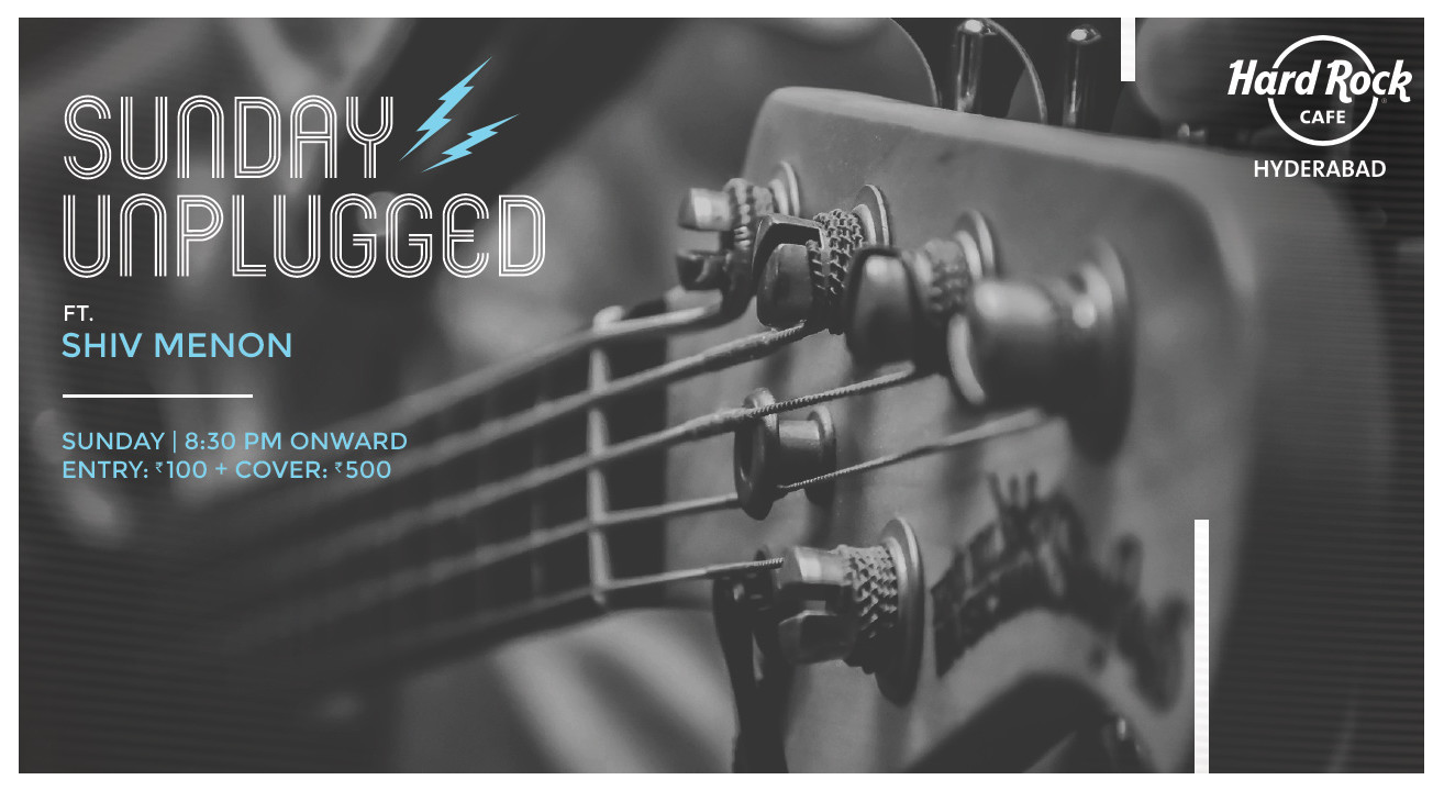 Sunday Unplugged ft. Shiv Menon
