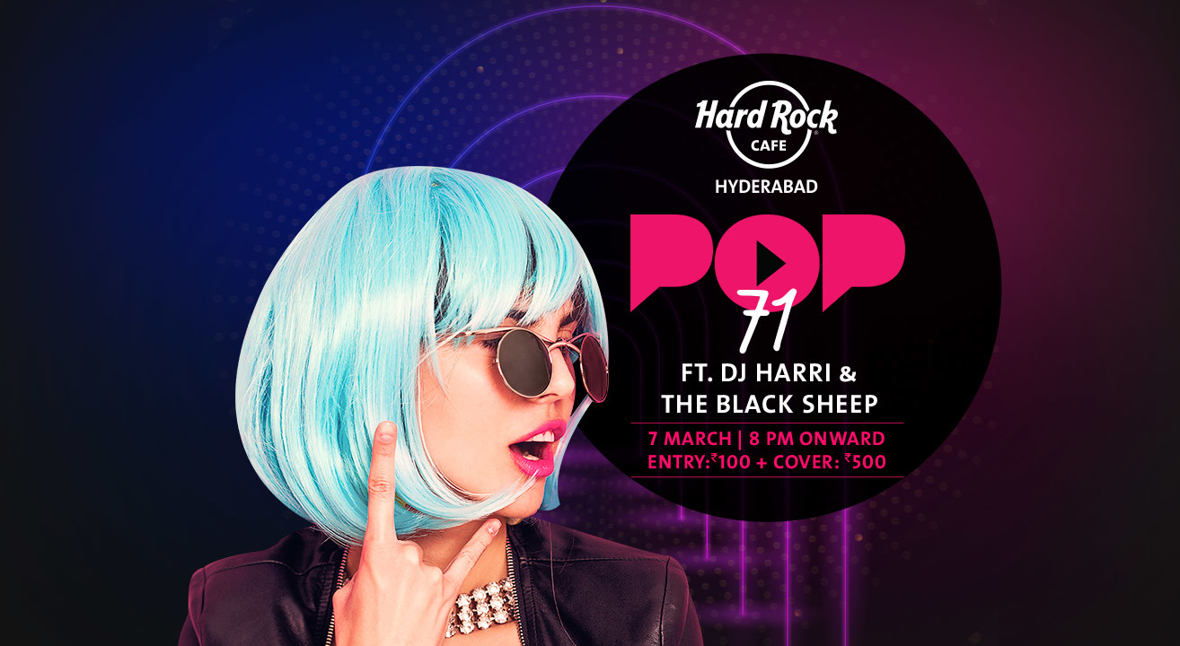 Pop71 Live ft. DJ Harri and The Black Sheep