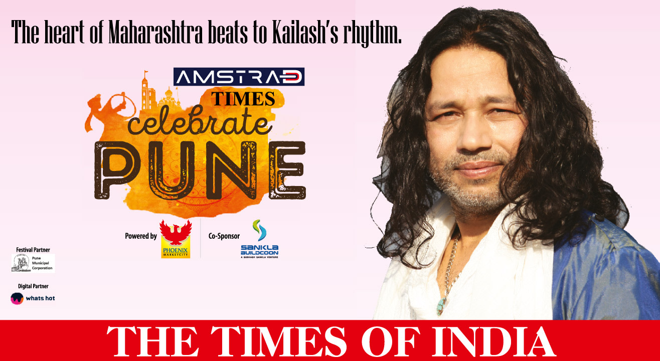 Times Celebrate Pune Live with Kailash Kher