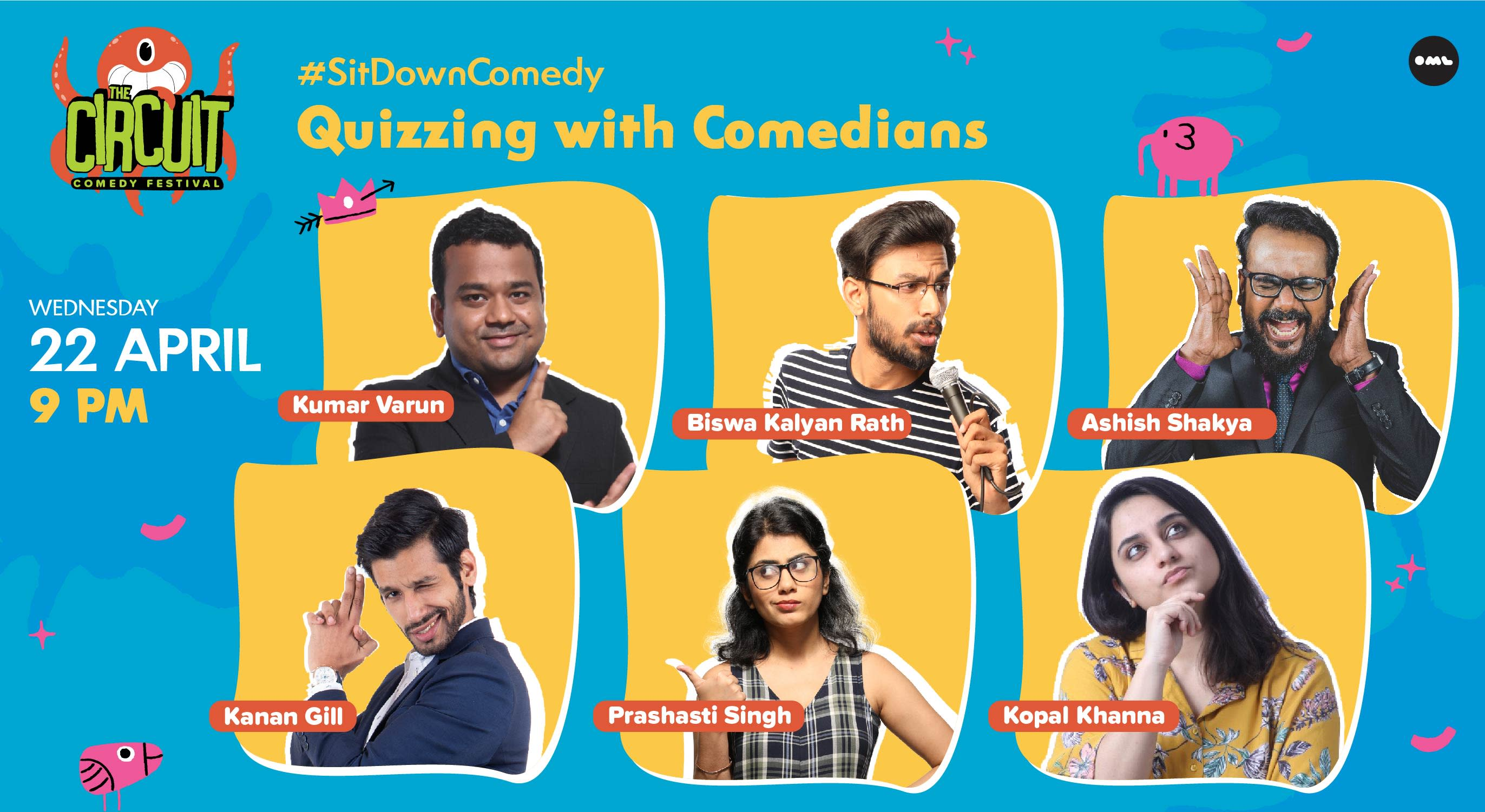 Quizzing with the Comedians- Hosted by Kumar Varun