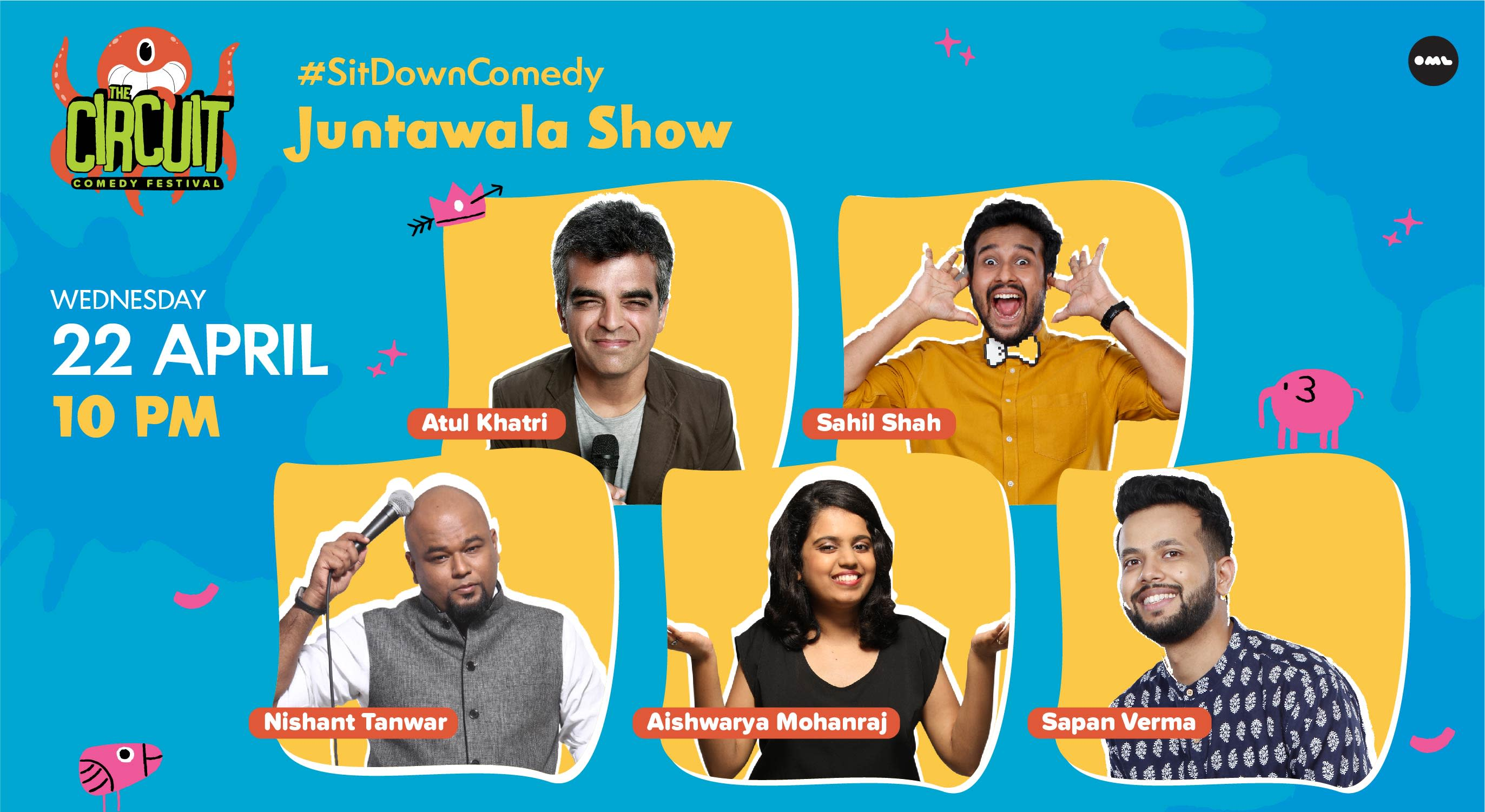 Juntawala Show ft. Atul Khatri, Nishant Tanwar and more