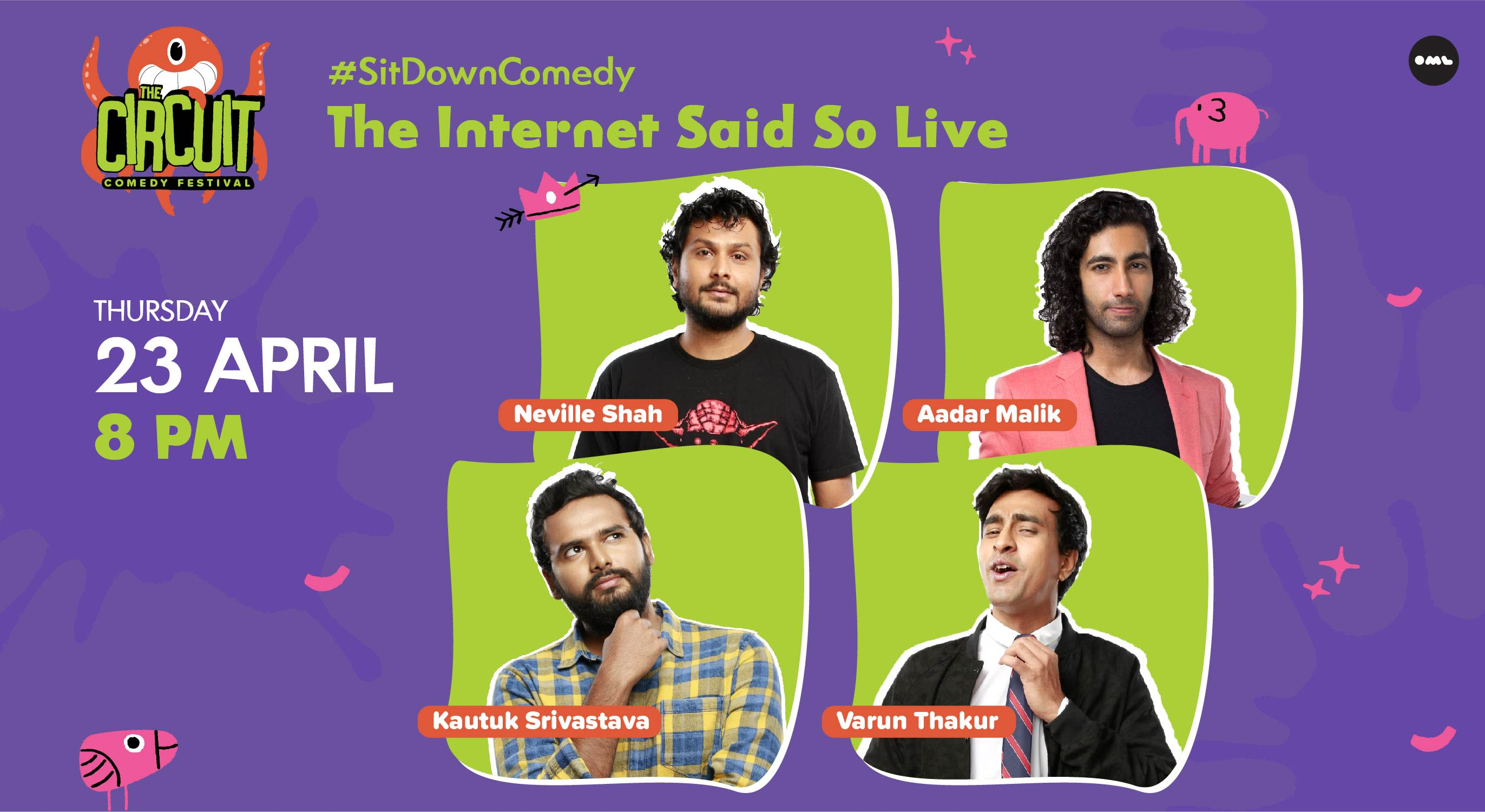 The Internet Said So Live ft. Neville Shah, Varun Thakur, Aadar Malik & Kautuk
