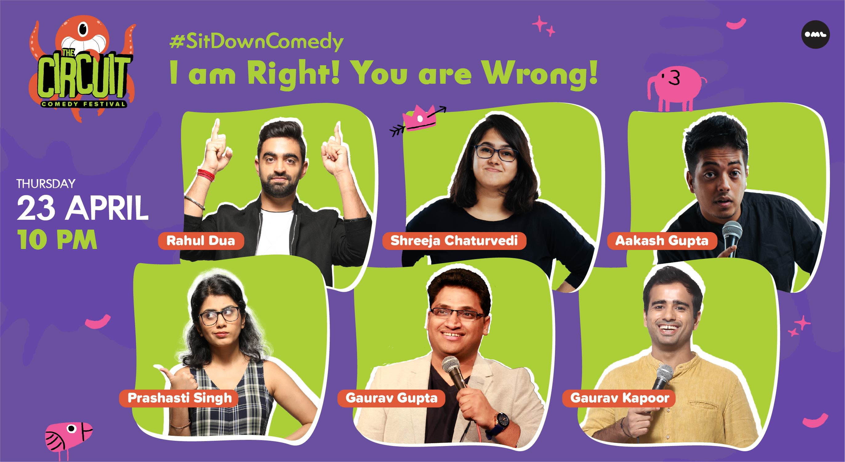 I am Right! You are Wrong! ft. Rahul Dua, Aakash Gupta & More