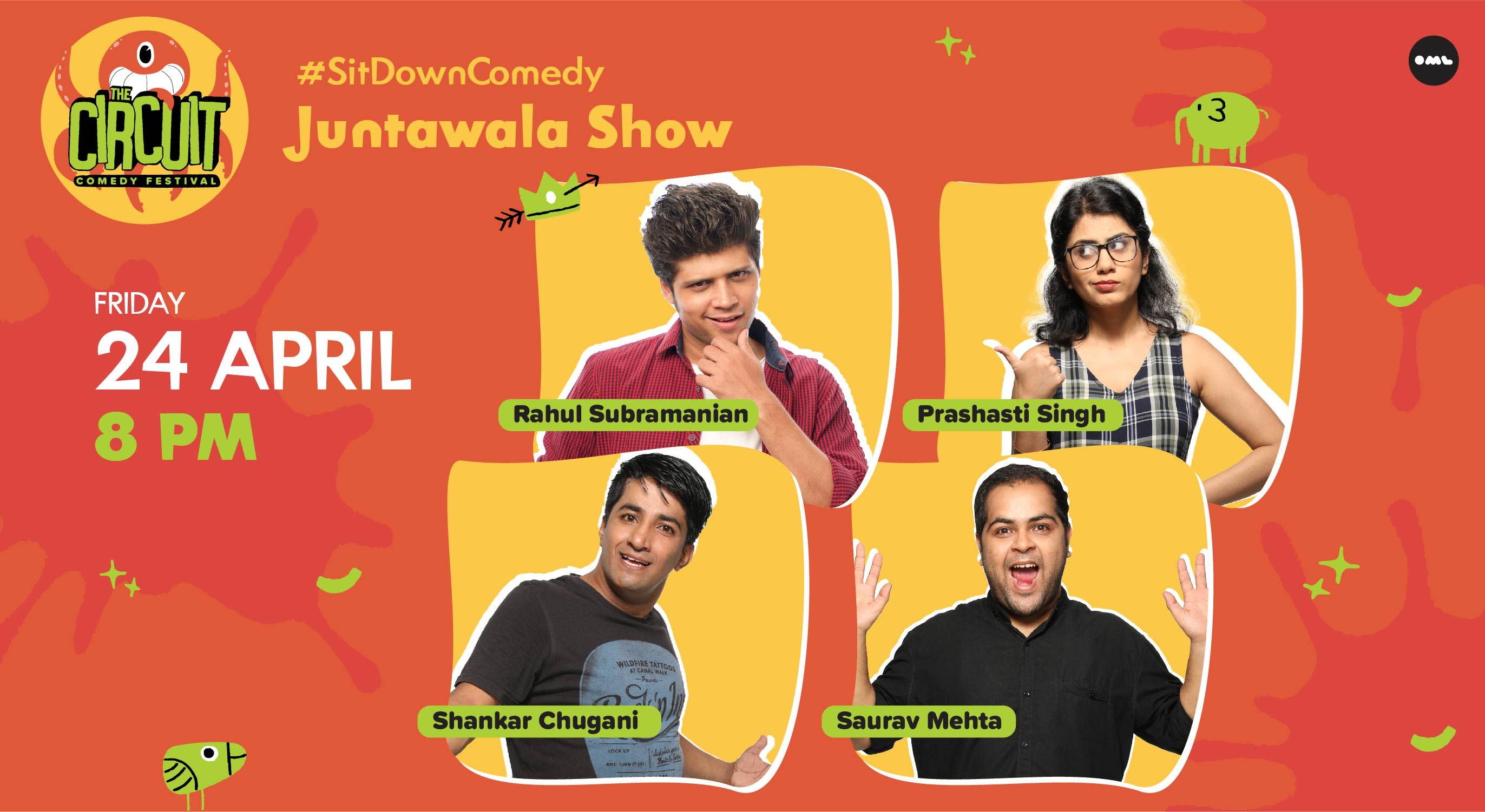 Juntawala Show ft. Rahul Subramanian, Prashasti Singh & more